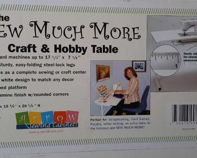 BNIB sewing and craft table