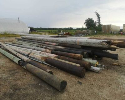 Used hydro poles for sale