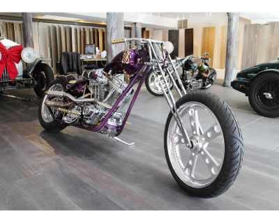 2008 Full Custom Purple Rain Bike