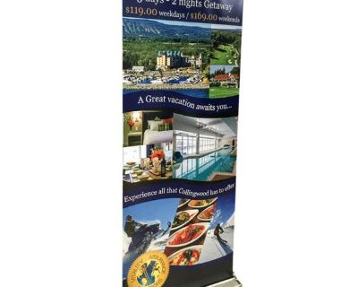 Residential Use For Printed Custom Roll Up Banner