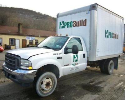 2003 FORD F450 Box Trucks, Cargo Vans Medium Duty