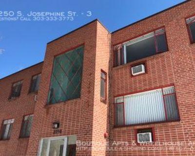 2250 S Josephine St #3, Denver, CO 80210 1 Bedroom Apartment