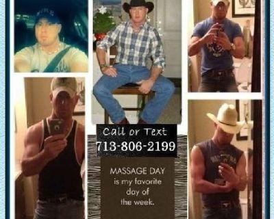 Male Massage Therapist Houston/Galleria Area