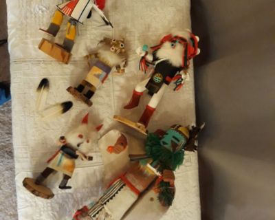 SW Kachina dolls collection