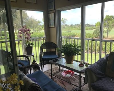Condo with a bundled golf community overlooking 8th fairway for rent - Bonita Springs
