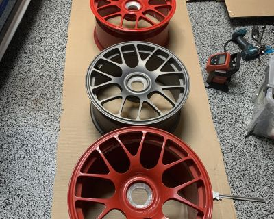 GMG Centerlock Wheels 18x12 & 18x9 for 997.2 GT3/GT3RS - sold individually