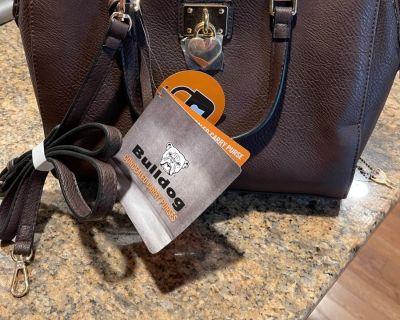 FS Bulldog Satchel Concealed Carry Women's Handbag With Holster