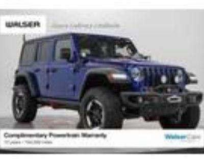 2020 Jeep Wrangler Blue, 16K miles