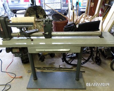 LATHE-WOOD-CRAFTSMAN AND CRAFTSMAN 1/3HP ROUTER