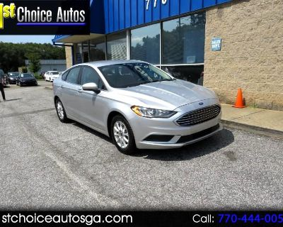 Used 2017 Ford Fusion S FWD