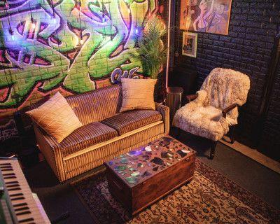 Filming in Studio C @ TheStu916 Audio/Music Studios, Sacramento, CA