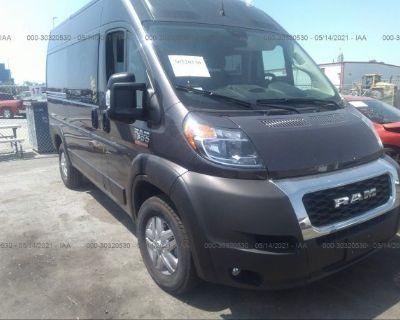 Salvage Gray 2021 Ram Promaster Cargo Van