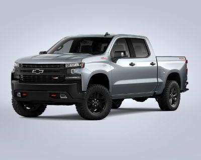 New 2021 Chevrolet Silverado 1500 LT Trail Boss Four Wheel Drive Trucks