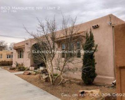 803 Marquette Ave Nw #2, Albuquerque, NM 87102 1 Bedroom Apartment