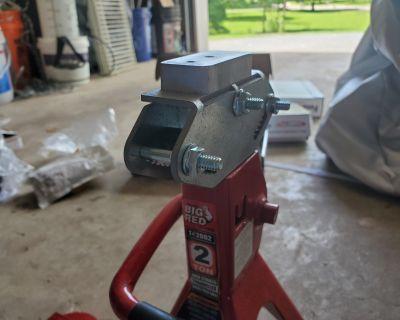 NJ - BMS 10mm/15mm Wheel Spacers, Pin Tool, Jack Pad, Forsvara Jack Stand Adapter
