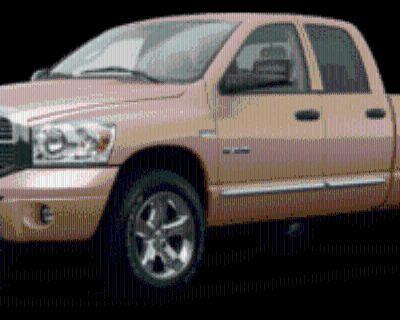 2008 Dodge Ram 1500 Laramie Quad Cab Regular Bed 4WD