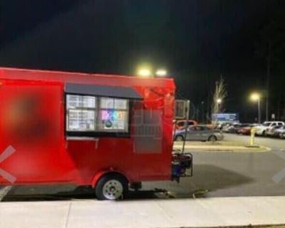 Ready to Operate 2014  - 6' x 12' Commercial Kitchen Concession Trailer
