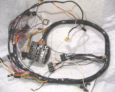 1970 Chevelle El Camino Tach And Gauge Dash Cluster Housing Wiring Harness