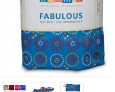 Bummis large wet bag, new