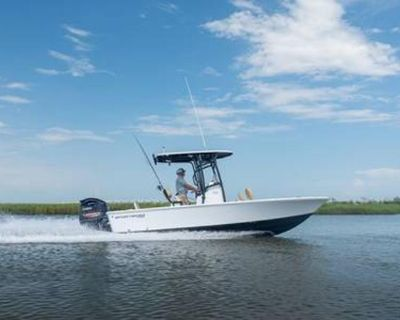 2022 Sportsman Masters 227 Bay Boat