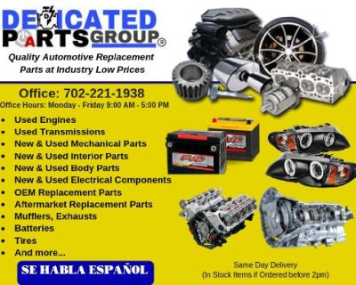 Auto Parts, Engines, Transmission, Body Parts, Mechanical Parts, Electrical, Interior Parts