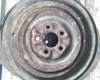 """1963 1962 1960 Ford Econoline Van Bus Wheel Spare Fomoco Mercury 1965 13"""""""