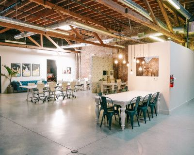 Spacious DTLA Office/Event Space With Back Patio, Los Angeles, CA