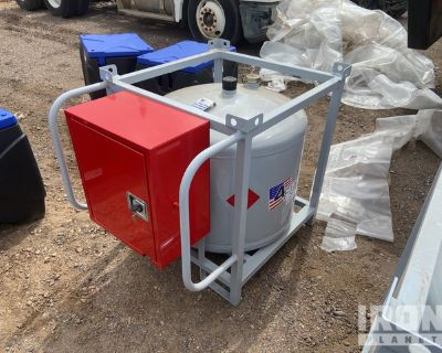 4-Fuel 4F-87 87 Gallon Diesel Fuel Tank w/Pump - Unused