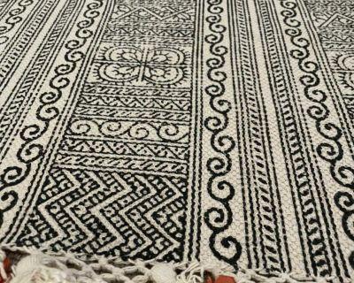 Area rug Boho style 4x6 rug