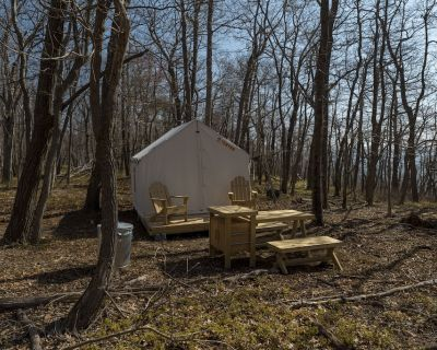Tentrr State Park Site - WV Cacapon State Park - Site F (2.3 miles past Cacapon - Berkeley Springs