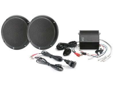 Polyplanar #mp3-kit-ab - Mp3 Kit W/me52 Amp, Ma4055 Speaker & Ic3.5 Panel - Blk