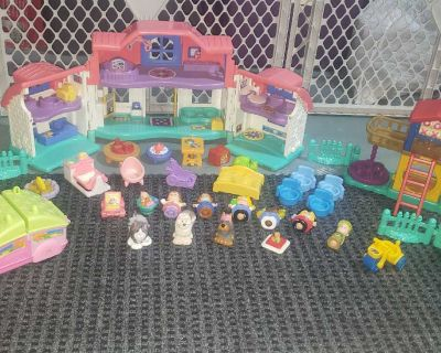 Little People House, Playground/Park, Camper and Accessories