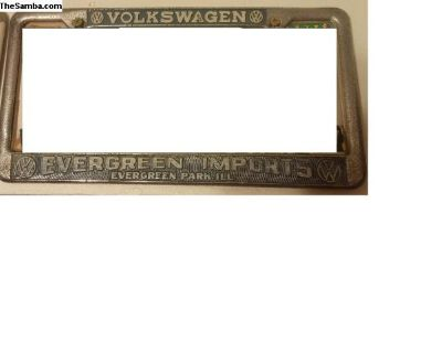[WTB] Evergreen Imports license plate frame