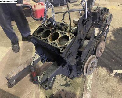 Mk2 Vw Volkswagen Jetta Turbo Diesel Engine 1.6