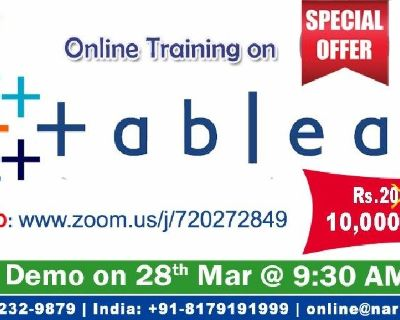 Tableau Online Training in the USA with Special Offer - NareshIT