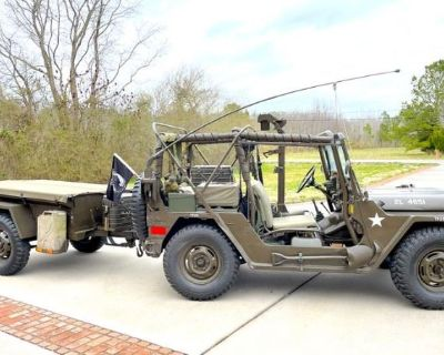 P587 Fully Loaded M151 MUTT Jeep with Trailer- Truck, Utility, -Ton, 4 4- Chesapeake, VA