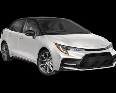 New 2022 Toyota Corolla SE Front Wheel Drive 4 - In-Stock