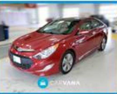 2014 Hyundai Sonata Red, 14K miles