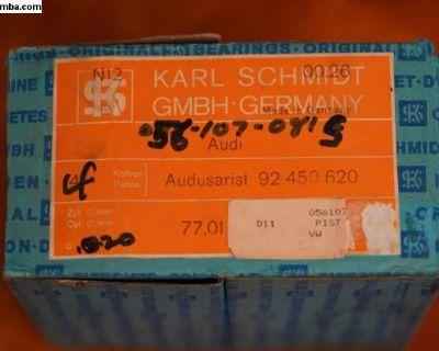 NOS Piston Set of 4 Kolbenschmidt (056 107 081 S)
