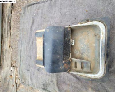 Ghia ashtray under the dash