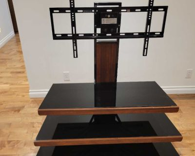 """Floating TV Stand holds 65"""" and Shelves"""