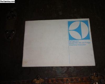 Westfalia Fridge Owners Manual