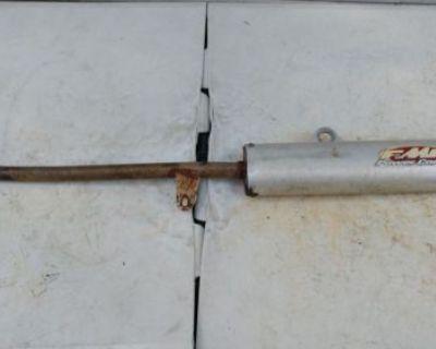 Banshee Fmf Silencer Pipe Left Side ( Power Core 2)