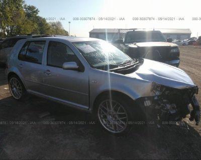 Salvage Silver 2004 Volkswagen Golf