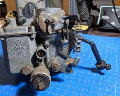German Solex 34 PICT 3 Carburetor