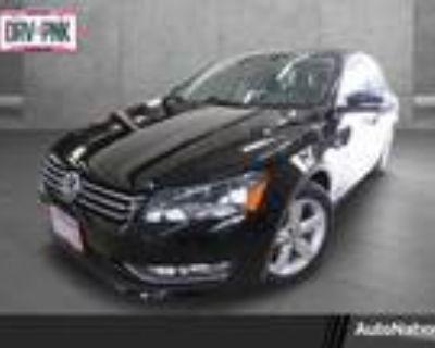 2015 Volkswagen Passat Black, 49K miles