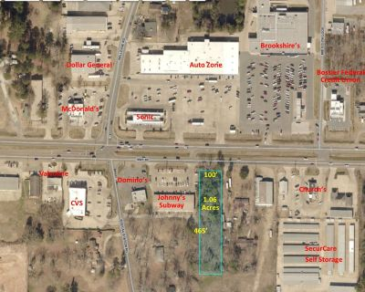 3.28 Acres For Sale - Hwy 80/Bodcau Station Rd