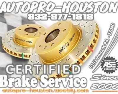 Brake Repair Shop | Houston Harris County TX | Mobile Mechanics