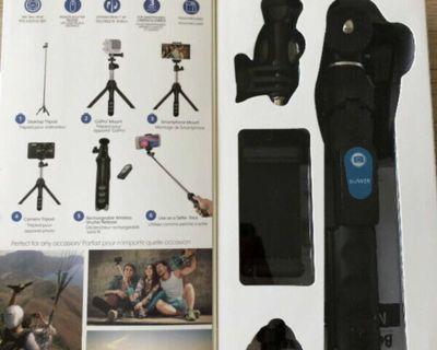 Bluetooth 6 in 1 Camera Tripod