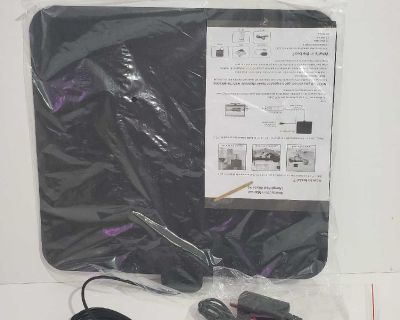 """Digital TV Antenna Newest Indoor HDTV Amplified 4K 1080P 95 Mile Range. Condition is """"New""""."""